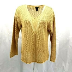 Additions By Chico's Knit Sweater Top Sz 2/L/12